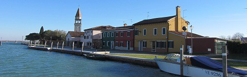 Waterfront at Mazzorbo, Venetian Lagoon