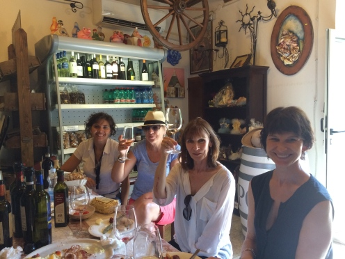 Tasting in the trullo