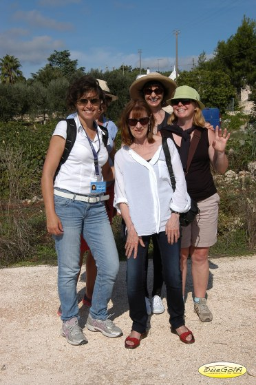 The lovely ladies in Puglia