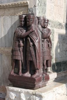 The porphry gentlemen of St Mark's