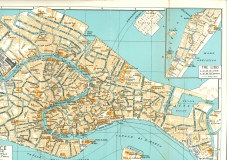My beloved Venice - historic map