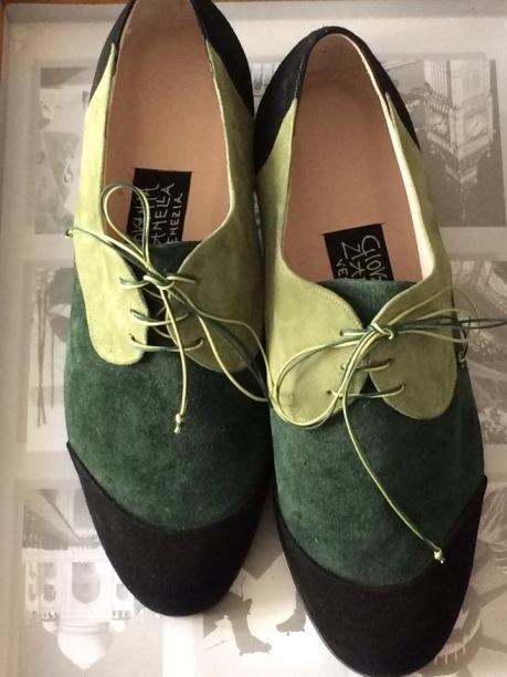 My beautiful hand-made Venetian shoes - www.educated-traveller.com