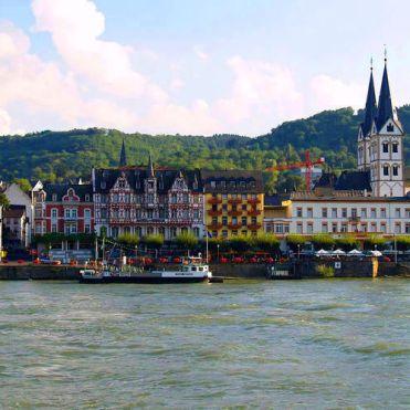 River Rhine at Boppard