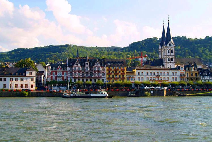 River Rhine at Boppard