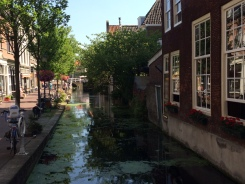 Delft - small side canal
