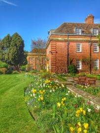 St Hugh's, University of Oxford - spring time