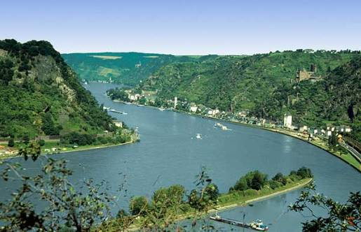 River Rhine - Loreley Rock