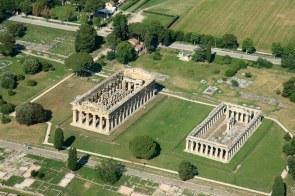 Paestum - Aerial View