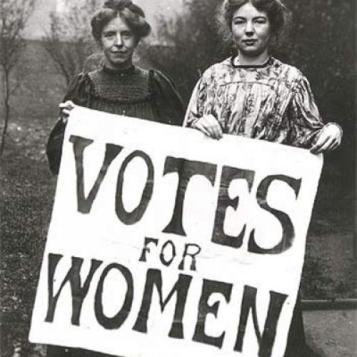 Campaigning for the right to vote