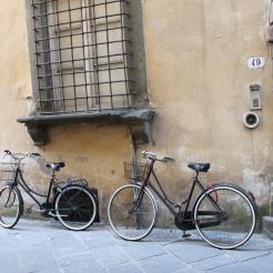 A Historic Palazzo and Bikes - Bikes everywhere!
