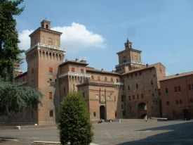 Ferrara Castle - home to the Este family for generations