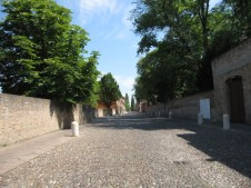 Corso Ercole Este, Ferrara - tree lined avenue