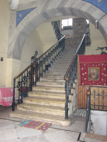 A staircase in Old Jerusalem