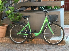 You can't beat a bicycle for exploring Ferrara