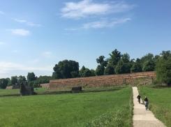 Medieval walls at Ferrara