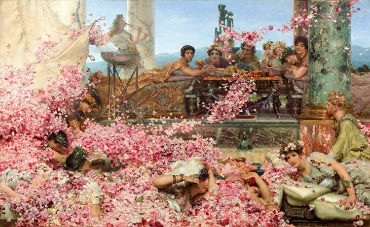 Alma-Tadema's Roses of Heliogabulus (1888)