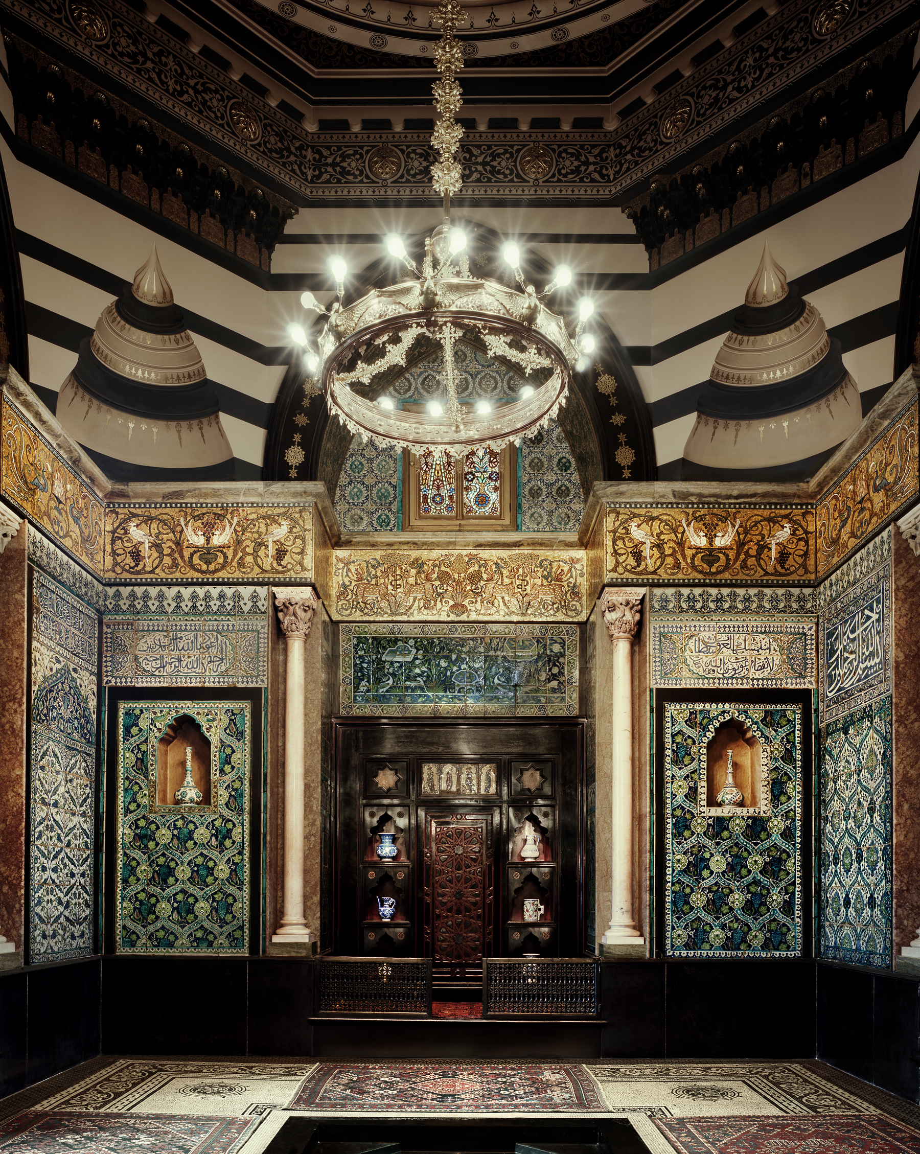 Leighton House Museum, London The Arab Hall. Courtesy of Leighton House Museum and Justin Barton.