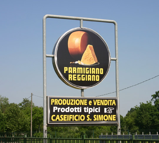 Caseificio San Simone - Parmesan Cheese Maker located just outside Reggio Emilia www.educated-traveller.com