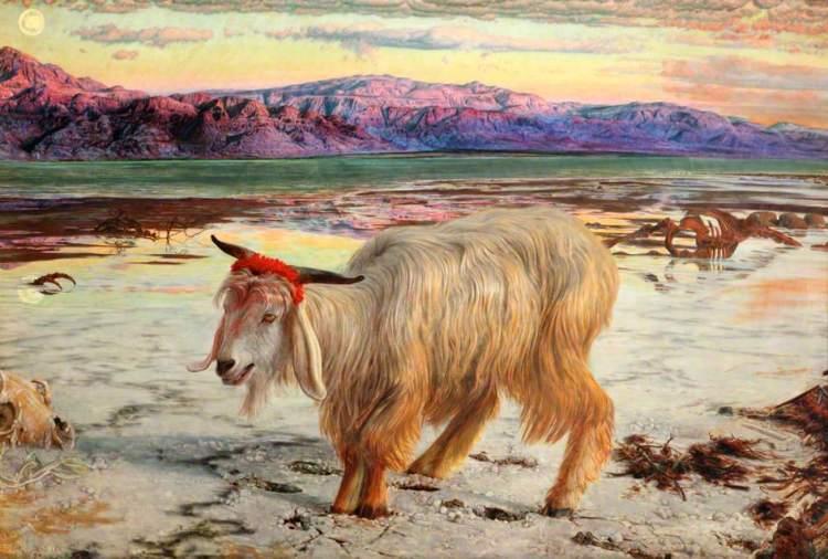 Holman Hunt's - The Scapegoat