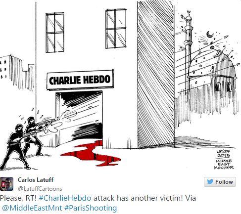 Charlie Hebdo - Carlos Latuff