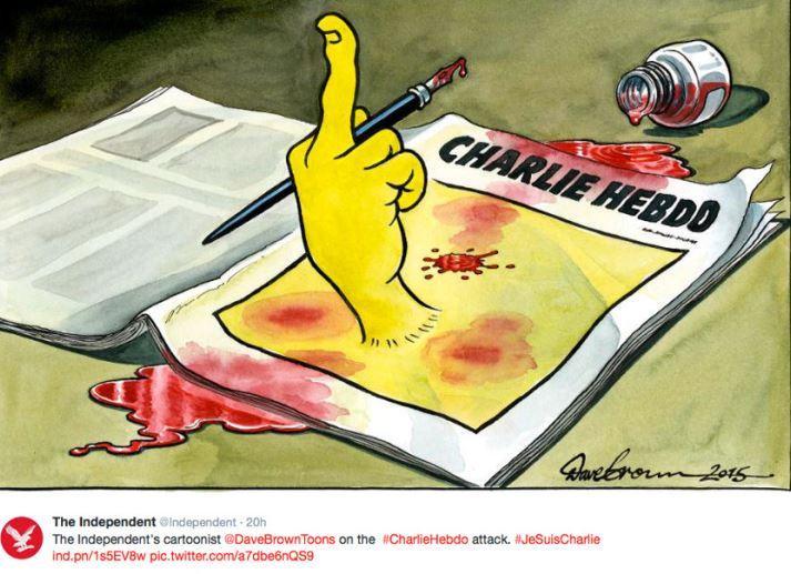 Charlie Hebdo - Independent