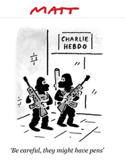 Charlie Hebdo - Matt