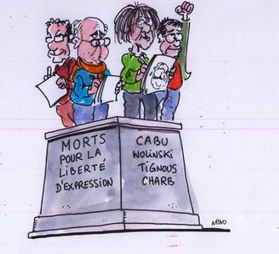 Charlie Hebdo - the cartoonists