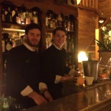 The friendly bar men