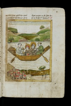Lives of the saints, Gallus and Otmar (1450)