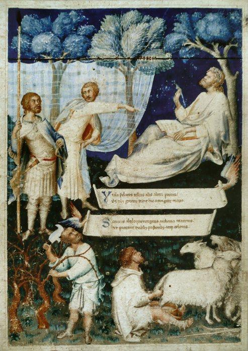 Petrarch's Virgil - 14th century manuscript