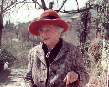 Freya Stark, as an elderly lady. She retired to Asolo in the 1970s.