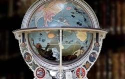 Himmels Globus, St Gallen Baroque Library, Switzerland