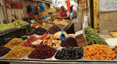Street stalls - Jerusalem