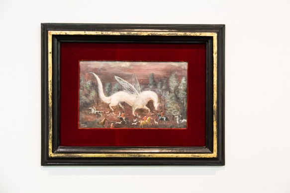 The Ermine Hunt - 1959 Oil on canvas
