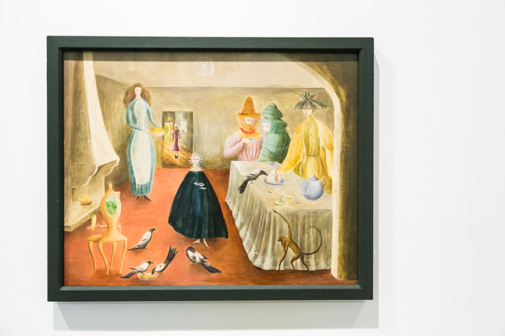 The Old Maids - artist Leonora Carrington from The Tate Liverpool Exhibition, 2015