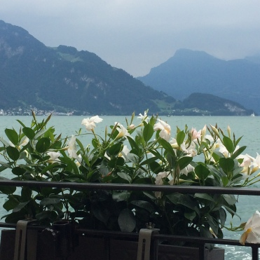 Lake Lucerne - beautiful alpine lake
