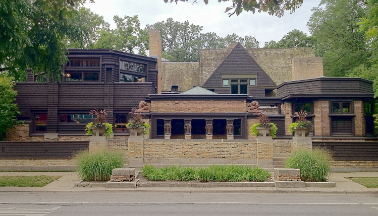 The Lloyd Wright Family Home and Studio, Oak Park