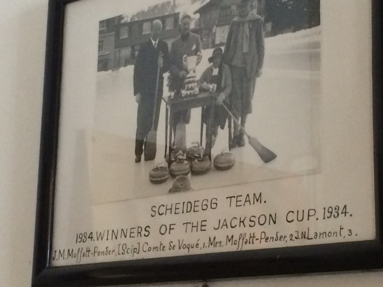 Scheidegg Curling Team - 1930s