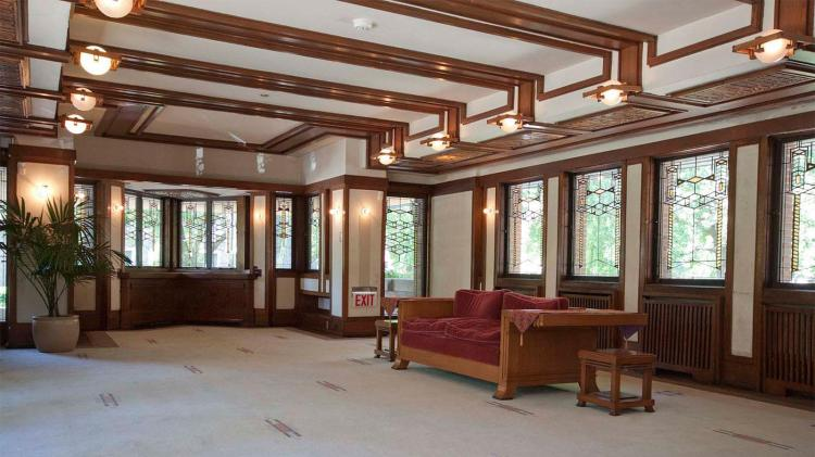 Interior elegance at the Robie House