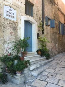 Matera, a typical dwelling