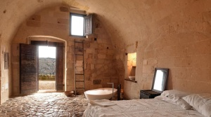 Cave room in the sassi