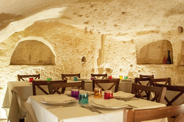 Fabulous restaurant in a cave