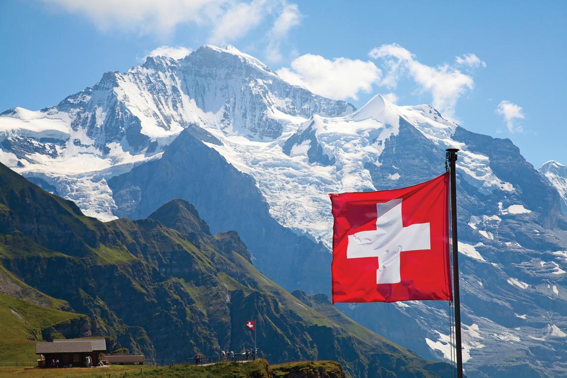 The Swiss Alps - towards the Jungfrau