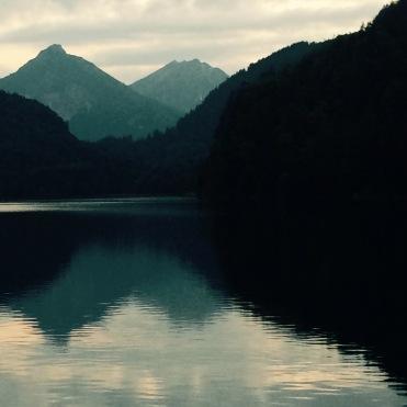 The magical lake at Schwangau