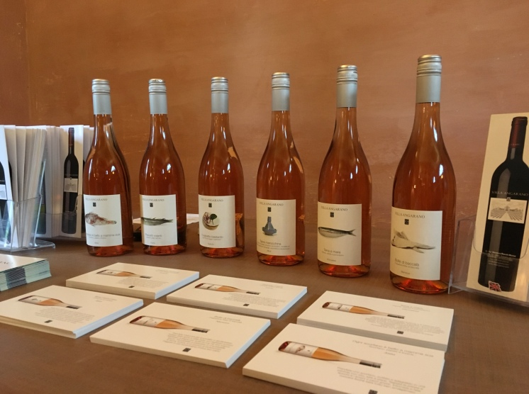 2016 Rose wine from Villa Angarano