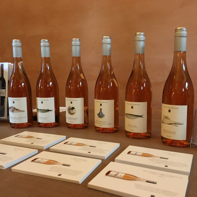 Villa Angarano rose wines - 2016