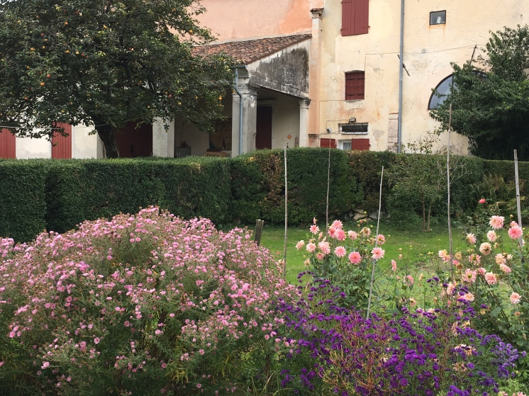 Private garden - Villa Angarano