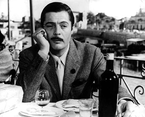 Divorce Italian Style is an Italian 1960s comedy about love and marriage. The impoverished count, seen here planning his next move....