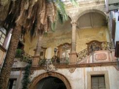 A Baroque Palace Courtyard, Palermo