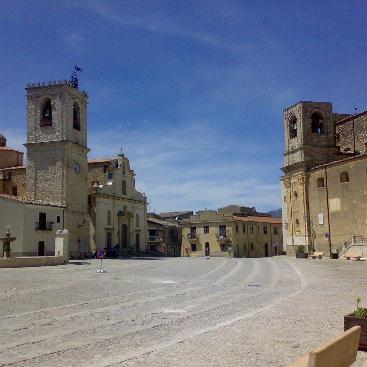 Cinema Paradiso was filmed here in Palazzo Adriano
